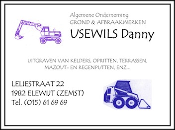 Grond- en afbraakwerken Danny Usewils